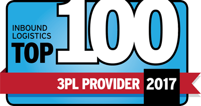 Inbound Logistics Top 100 2017 Award