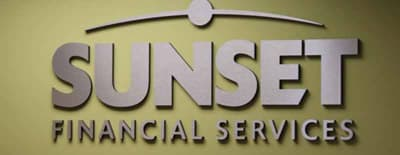 Sunset's Financial Services logo