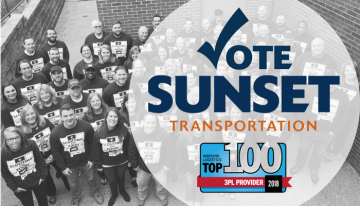 Vote NOW:  Help Sunset become a Top 3PL in 2018!