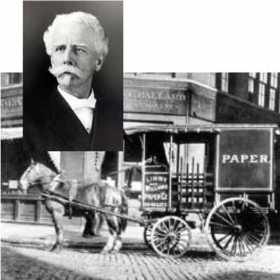 Williams Paper Company Horse and Buggie